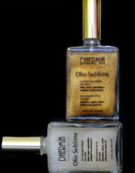 Olio Sublime con Glitter Oro e Silver